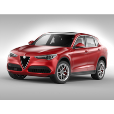 Alfa Romeo Stelvio (2018) 3D Model