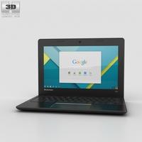 Lenovo 100S Chromebook 3D Model