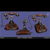 05 38 59 365 antique vintage retro phone 3d model 1 4