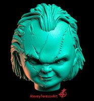 Chucky head 3D Model