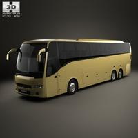 Volvo 9900 Bus 2007 3D Model