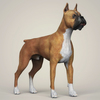 08 19 30 86 realistic boxer dog 06 4