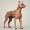 08 19 40 654 realistic miniature pinscher dog 06 4