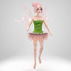 Fairy Evi 3D Model