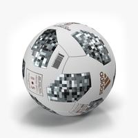 Adidas Telstar Ball 2018 3D Model