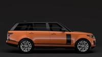 Range Rover HSE Td6 LWB L405 2018 3D Model