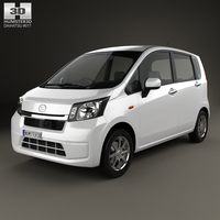 Daihatsu Move 2012 3D Model