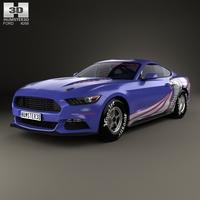 Ford Mustang Cobra Jet 2016 3D Model