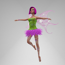 Fairy Sasha 3D Model