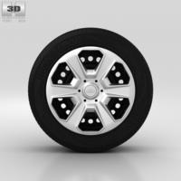 Ford Fiesta Wheel 15 inch 003 3D Model