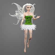 Fairy Whitneyt 3D Model