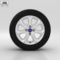 Ford Fiesta Wheel 16 inch 004 3D Model