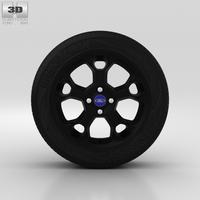 Ford Fiesta Wheel 17 inch 003 3D Model
