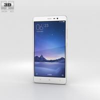 Xiaomi Redmi Note 3 Silver 3D Model