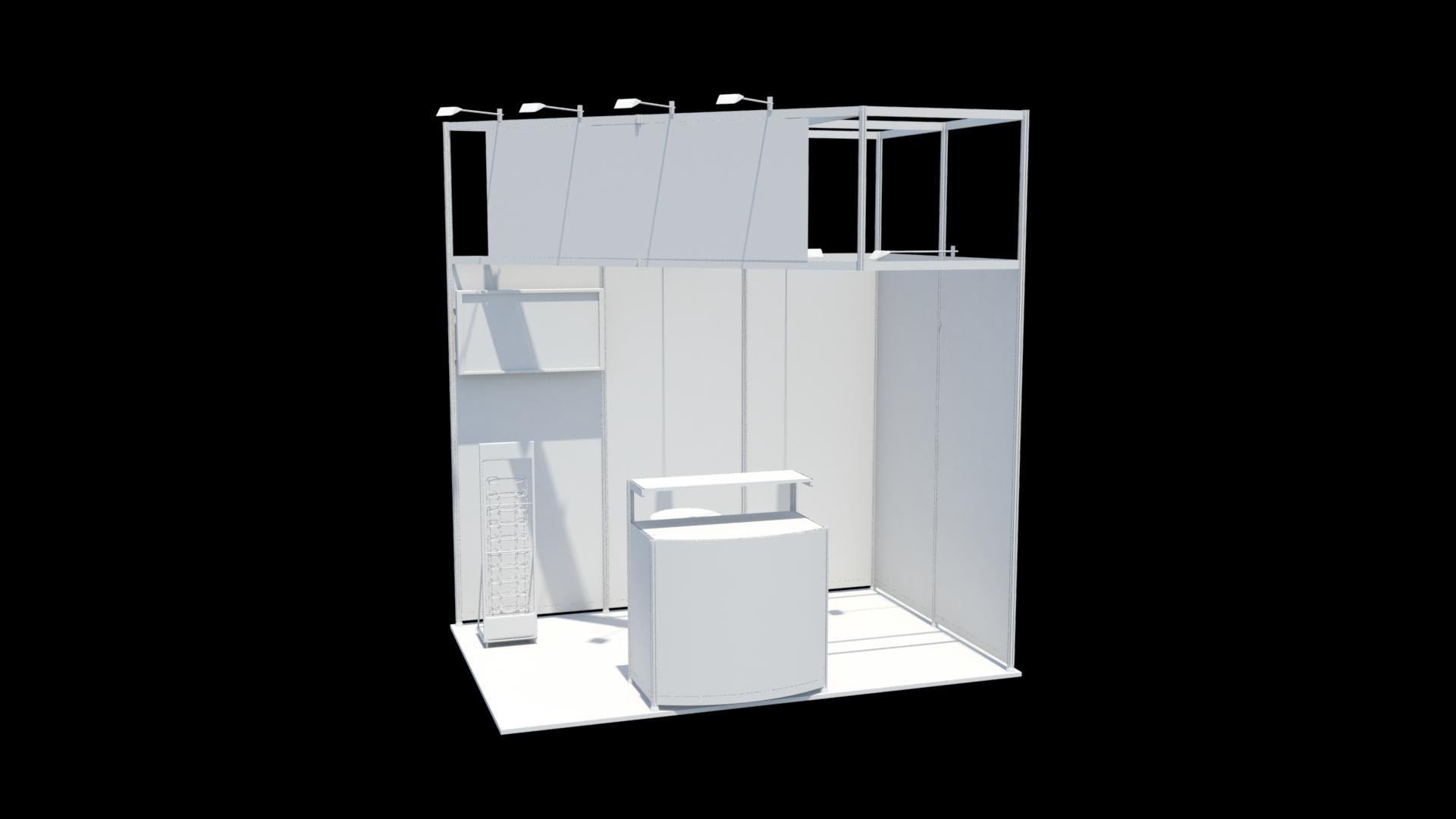 Free 3d Exhibition Stand Design : Exhibition stand design d model