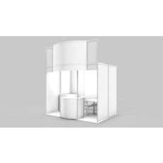 Exhibition stand design. 3D Model