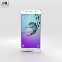 Samsung Galaxy A5 (2016) White 3D Model