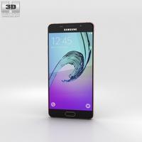 Samsung Galaxy A5 (2016) Rose Gold 3D Model