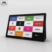 Samsung Galaxy View Black 3D Model