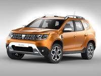Dacia Duster (2018) 3D Model