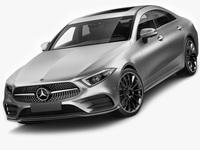 Mercedes-Benz CLS 2018 AMG line 3D Model