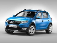 Dacia Sandero Stepway (2013) 3D Model