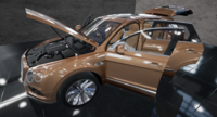 Bentley Bentayga 3D Model