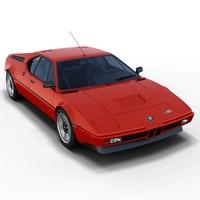 BMW M1 3D Model
