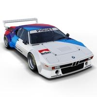 BMW M1 Procar 3D Model