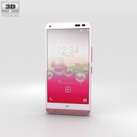 Kyocera Digno Rafre Coral Pink 3D Model