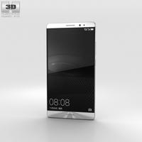 Huawei Mate 8 Moonlight Silver 3D Model