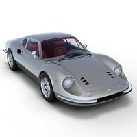 Ferrari 246 GT Dino 3D Model