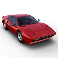 Ferrari 308 GTB 3D Model