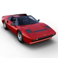 Ferrari 308 GTS 3D Model
