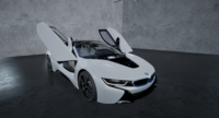 2015 BMW i8 - NEXT GEN 3D 3D Model