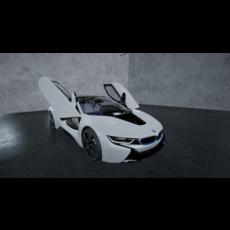 2015 BMW i8 - NEXT GEN 3D 3D Model