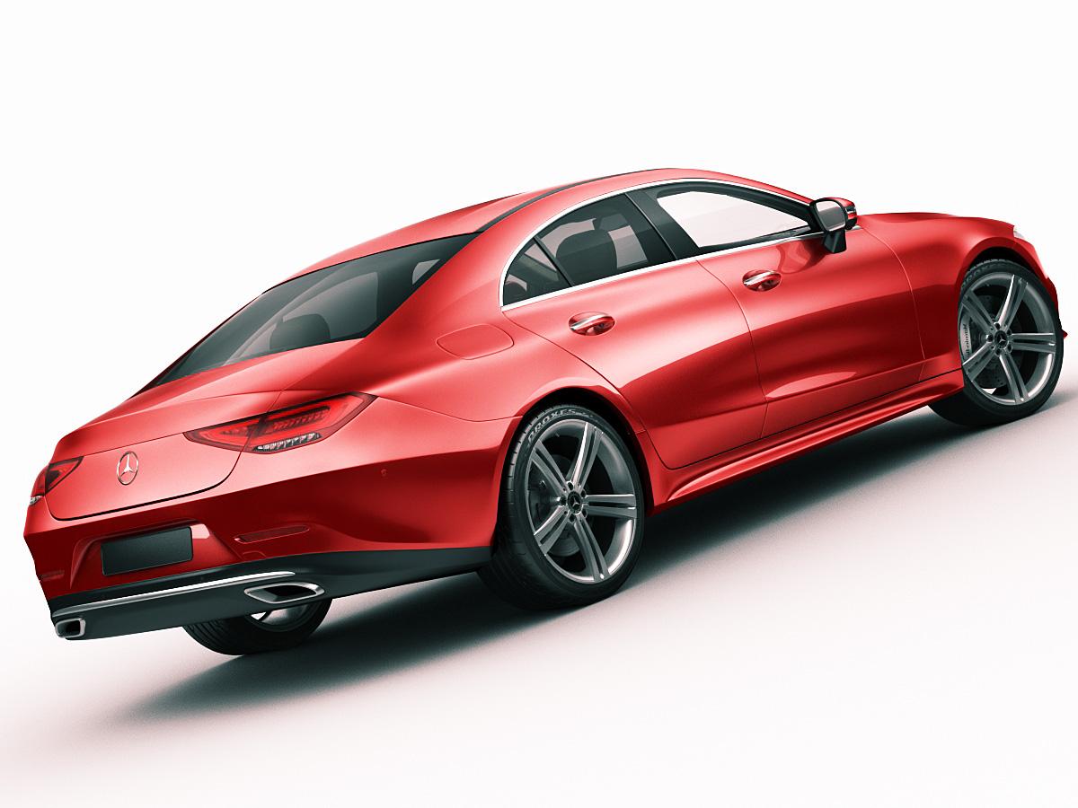 Mercedes benz cls 2018 3d model for Mercedes benz 2018 models