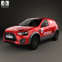 Mitsubishi ASX R 2015 3D Model
