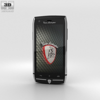 Tonino Lamborghini 88 Steel Black 3D Model