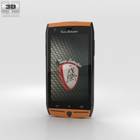 Tonino Lamborghini 88 Orange 3D Model