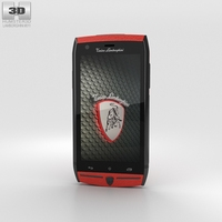 Tonino Lamborghini 88 Red 3D Model
