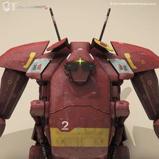Sci-fi mech 3D Model