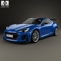 Subaru BRZ STI Performance concept 2015 3D Model