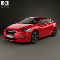 Subaru Impreza Sedan Concept 2015 3D Model
