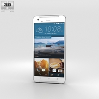 HTC One X9 White 3D Model