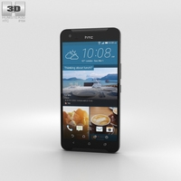 HTC One X9 Black 3D Model