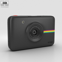 Polaroid Snap Instant Digital Camera Black 3D Model
