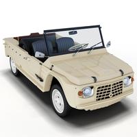 Citroën Méhari 3D Model