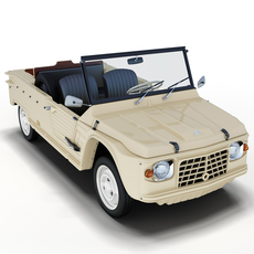 Citroën Méhari 3D Model