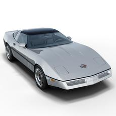 Chevrolet Corvette C4 Coupe 3D Model
